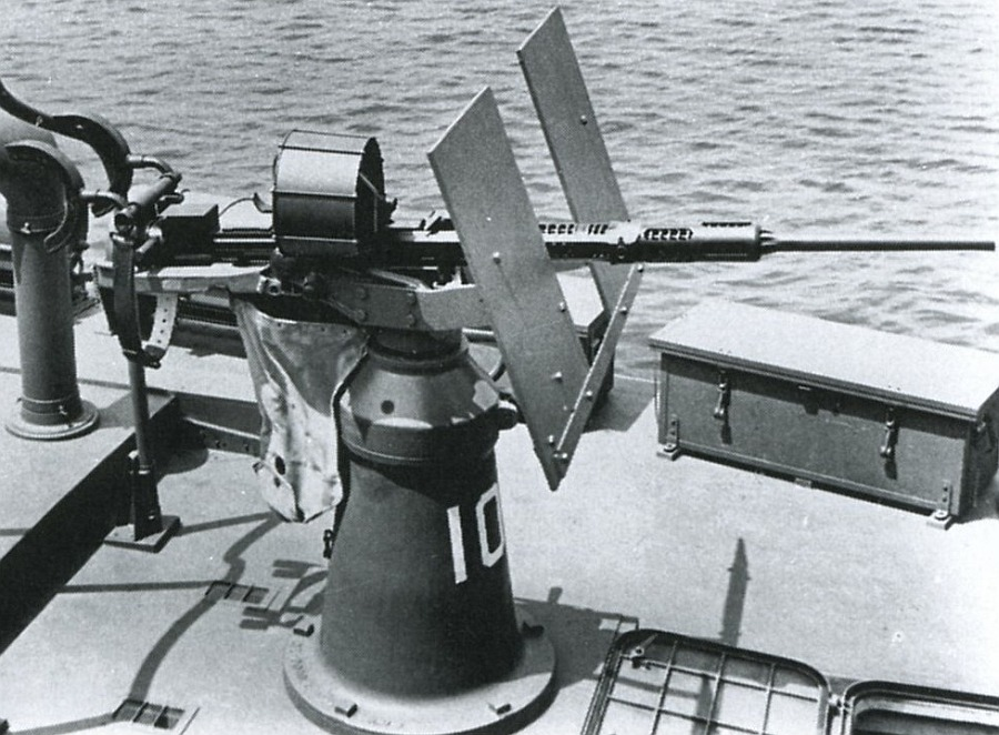 Oerlikon 20mm AA Gun Mark 4