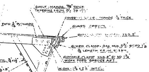 Elco PT Boat Plan Section