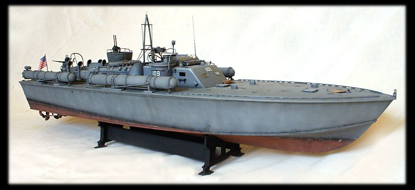 Stuart Hurley Italeri PT 109 Build